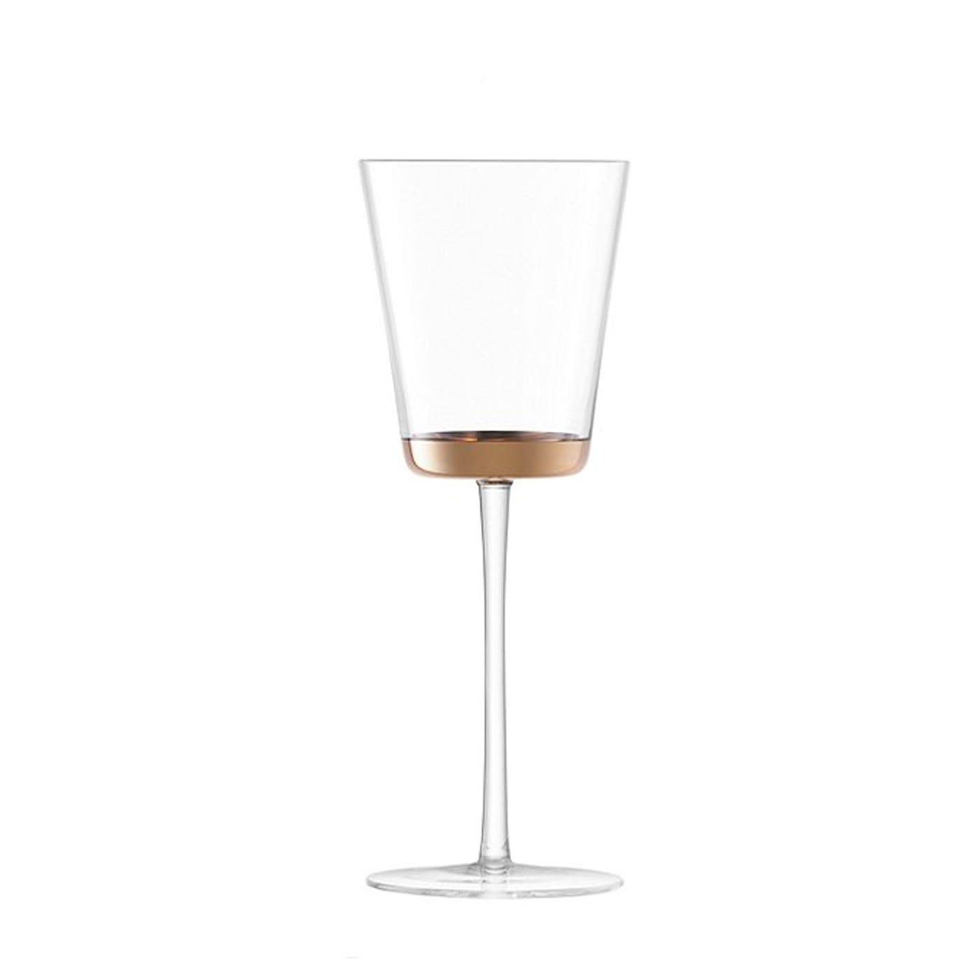 Edge White Wine Glasses Set Of 2