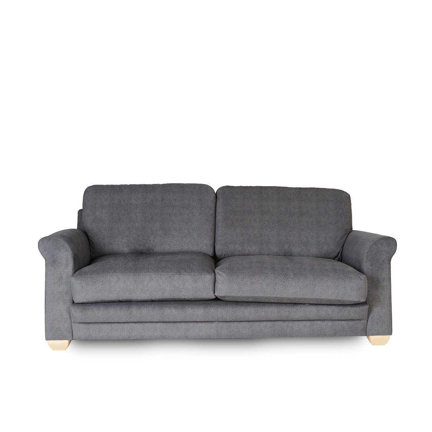 Padstow 3 seat sofa fabric Malta Carbon