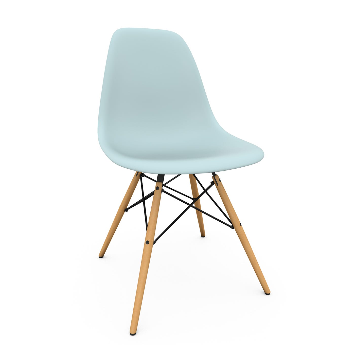 eames dsw chair new height ice grey