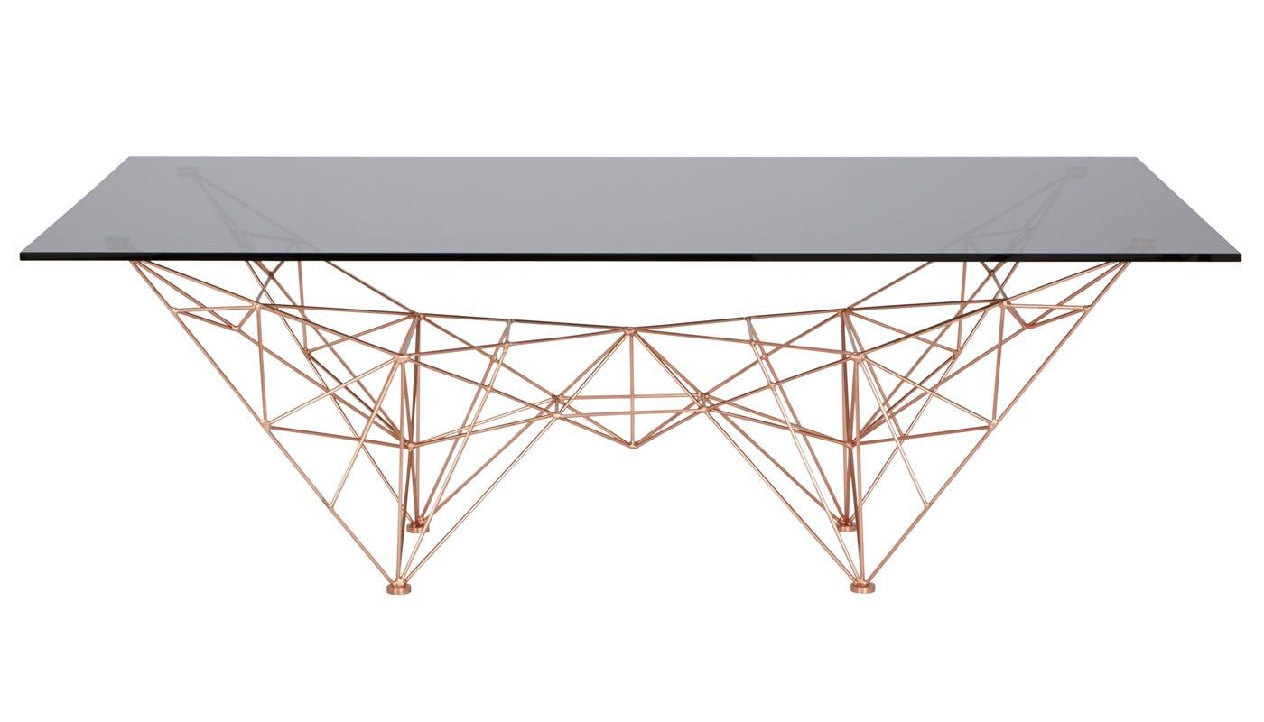 Tom dixon pylon coffee table - Table bois design scandinave ...
