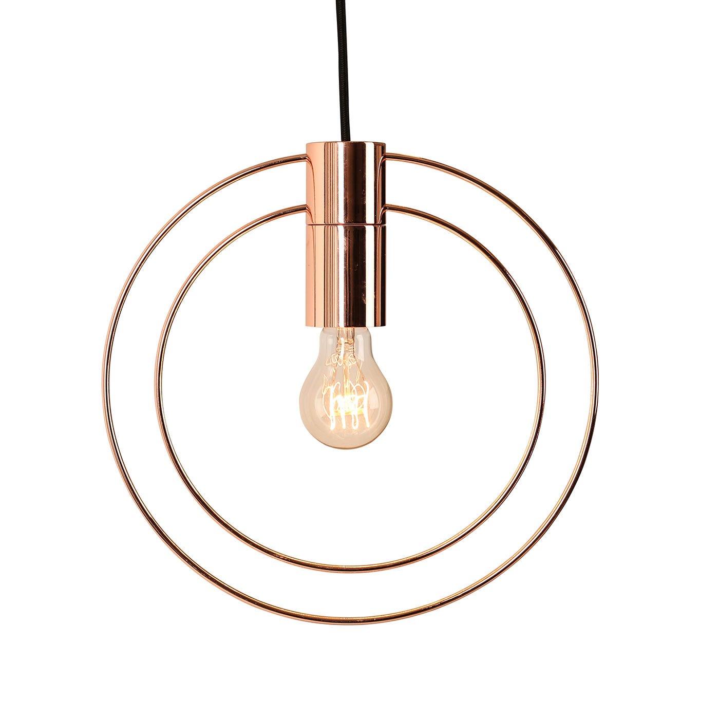 Heals halo pendant copper halo pendant light copper aloadofball Image collections