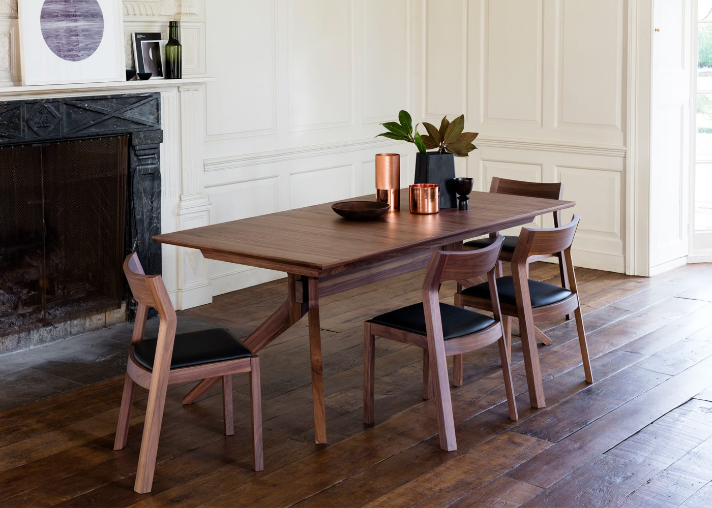 Cross Extending Dining Table
