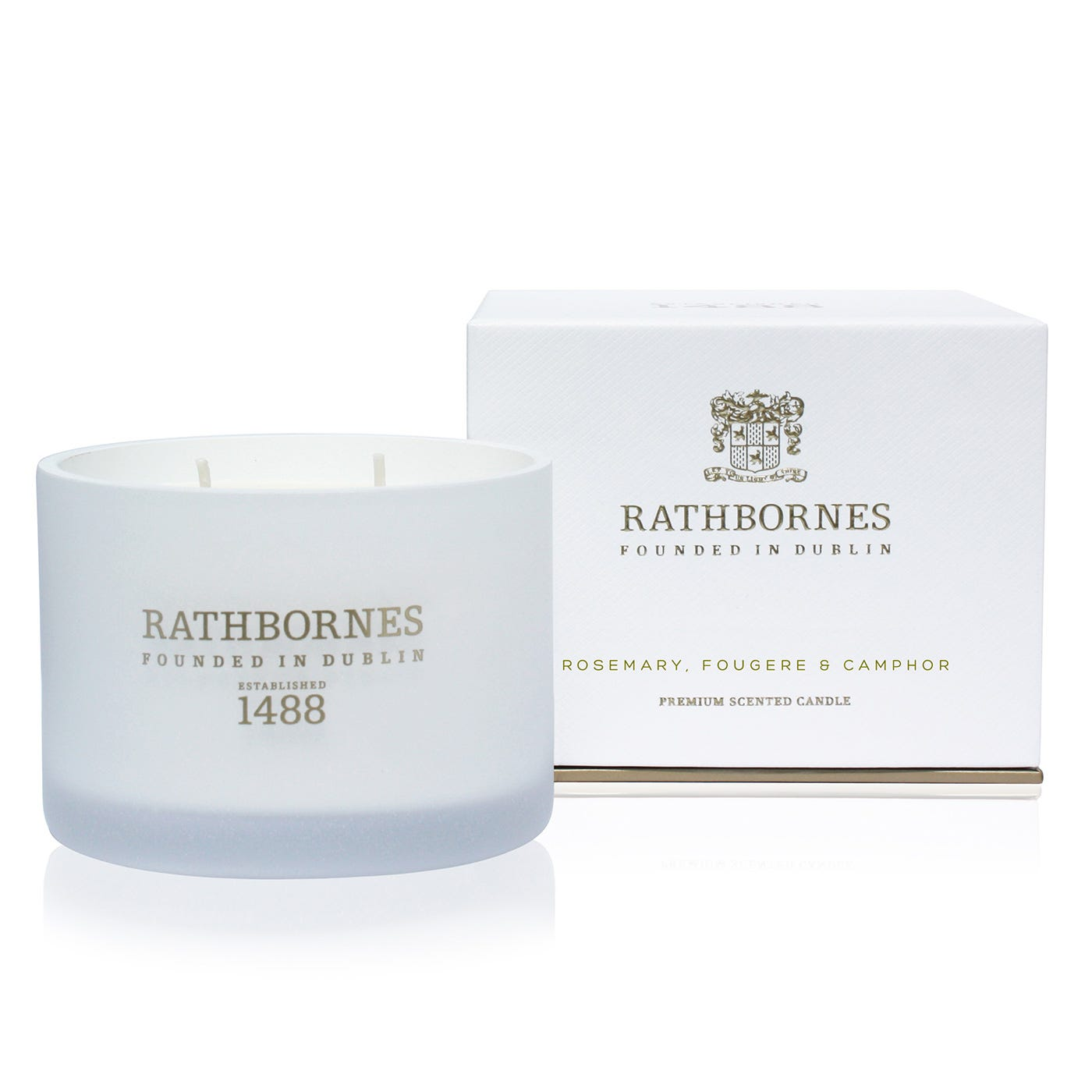 Rosemary Fougere & Camphor Candle