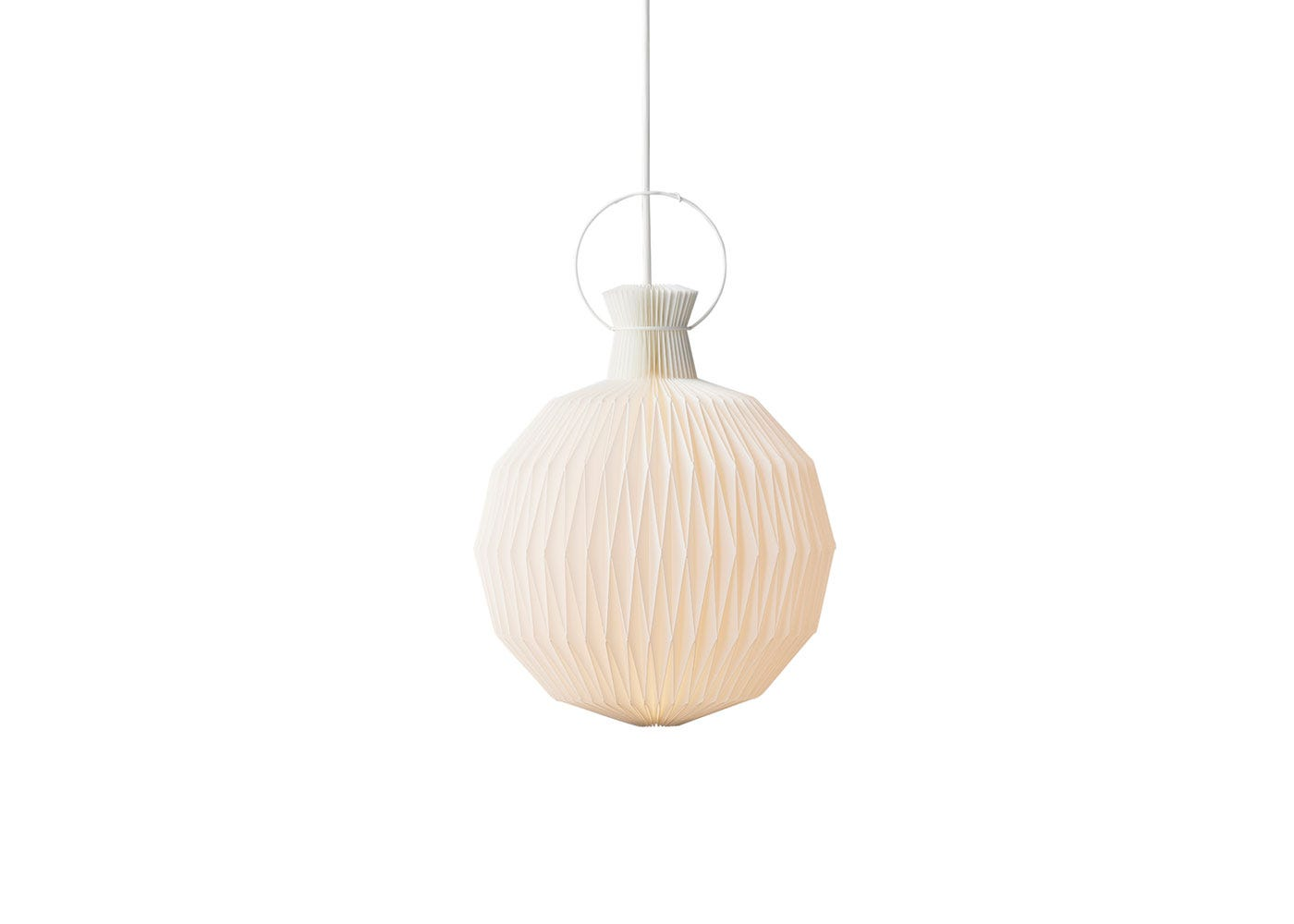 As Shown: 101 Lantern Pendant Paper in Small