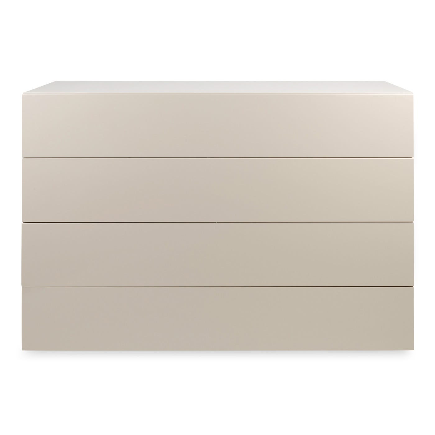 Space 4 Drawer Wide Chest Turtledove