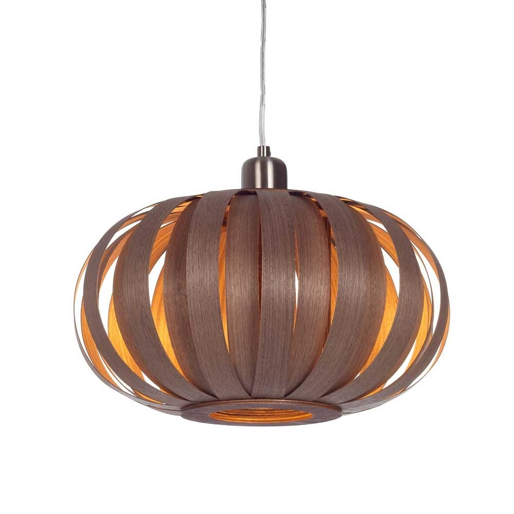 Urchin Pendant Light Small Walnut