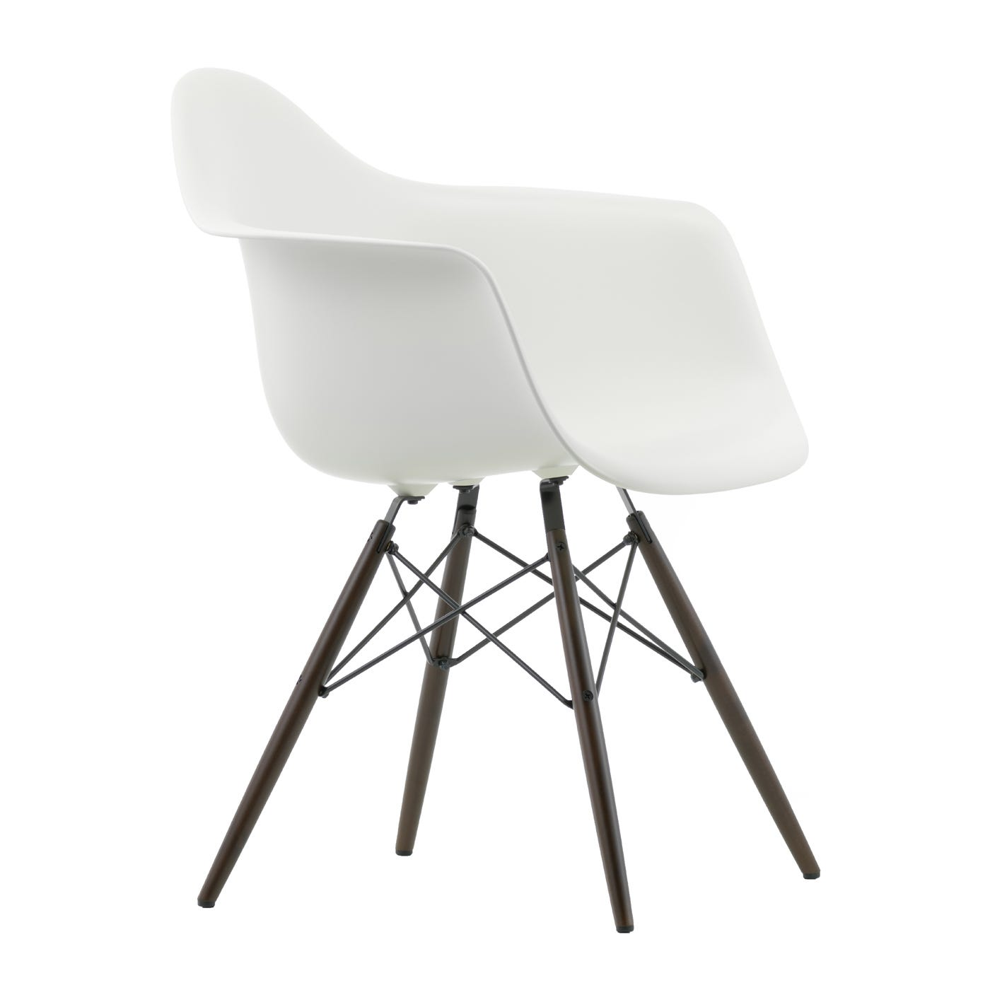 eames daw armchair new height white