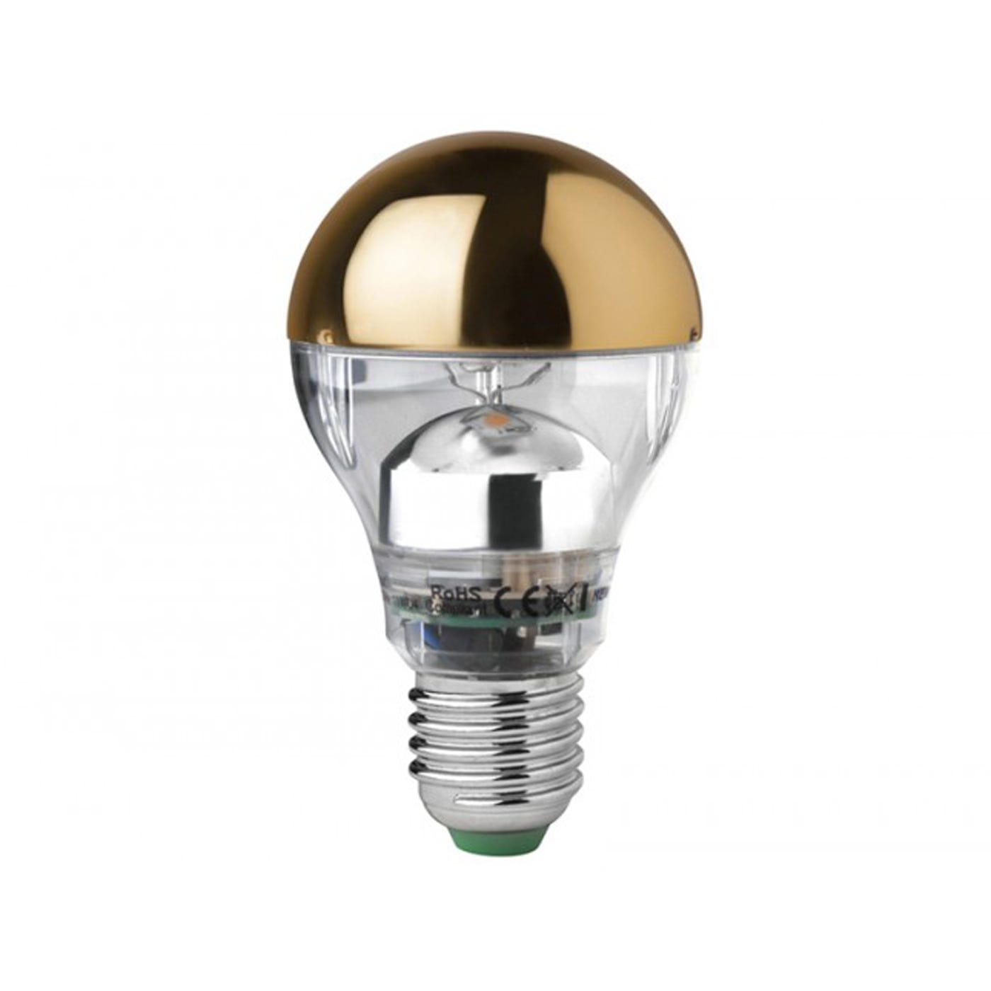 Brass Crowned Bulb E27 7W LED - Discontinued