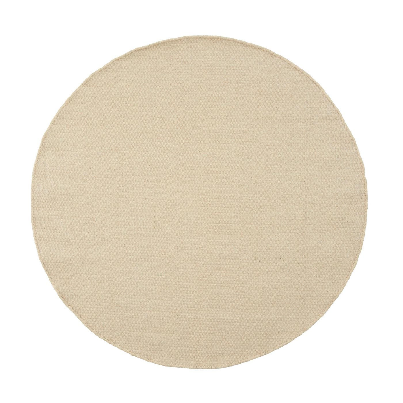 Asko Round Rug White
