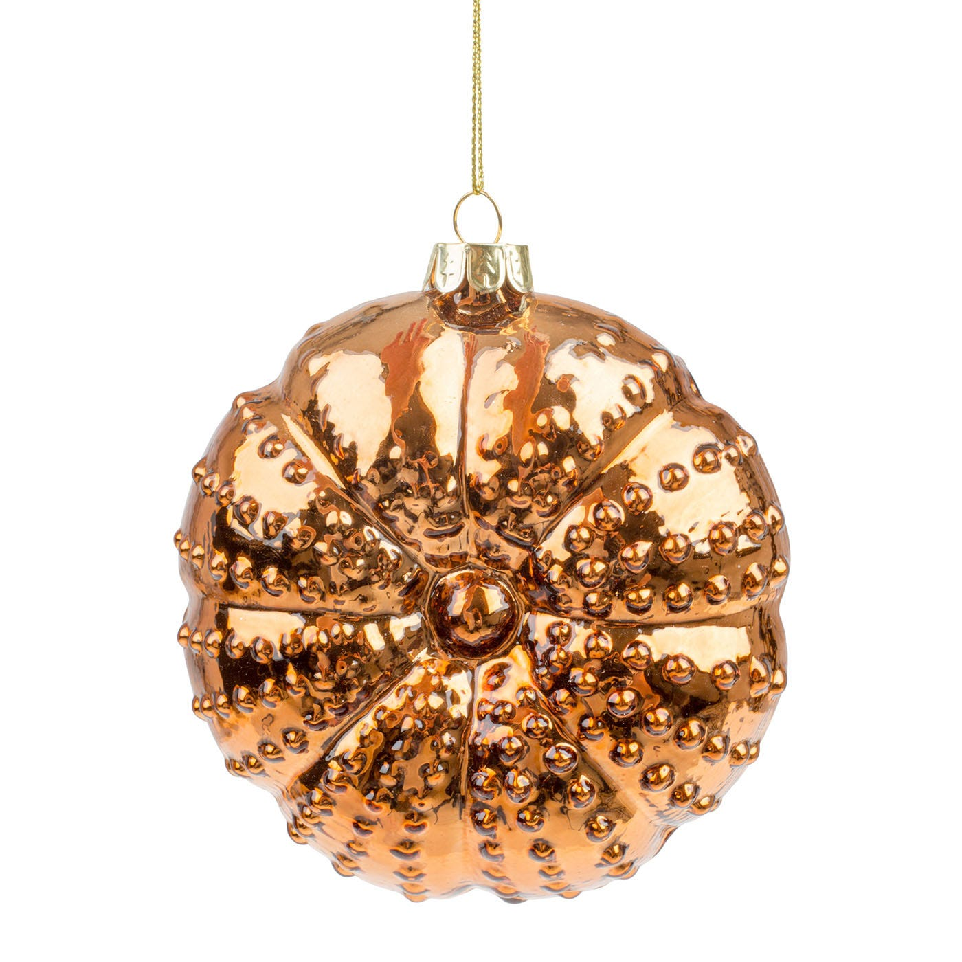Sea Urchin Decoration Copper