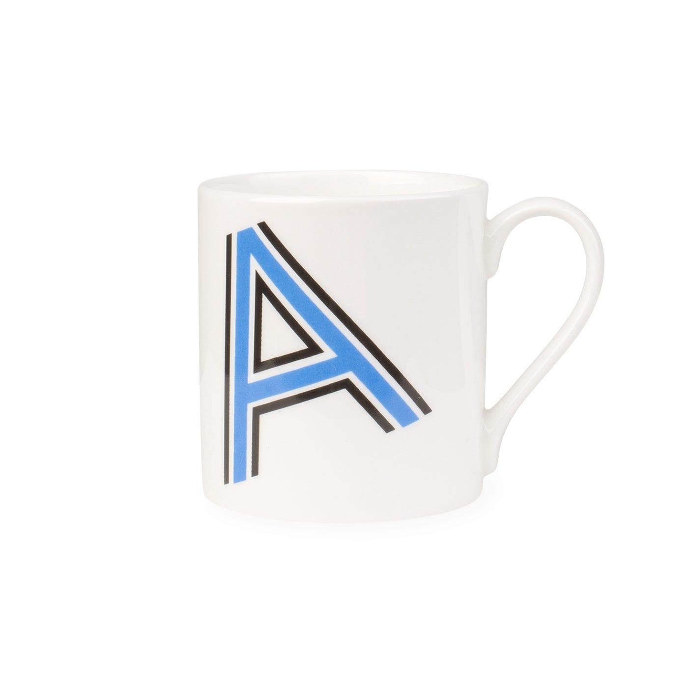Heal's Heritage Alphabet Mug A