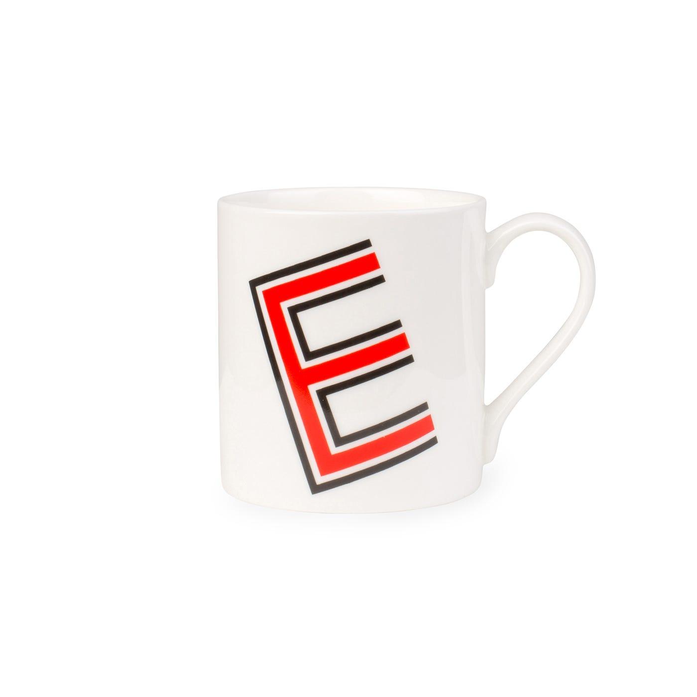 Heal's Heritage Alphabet Mug E