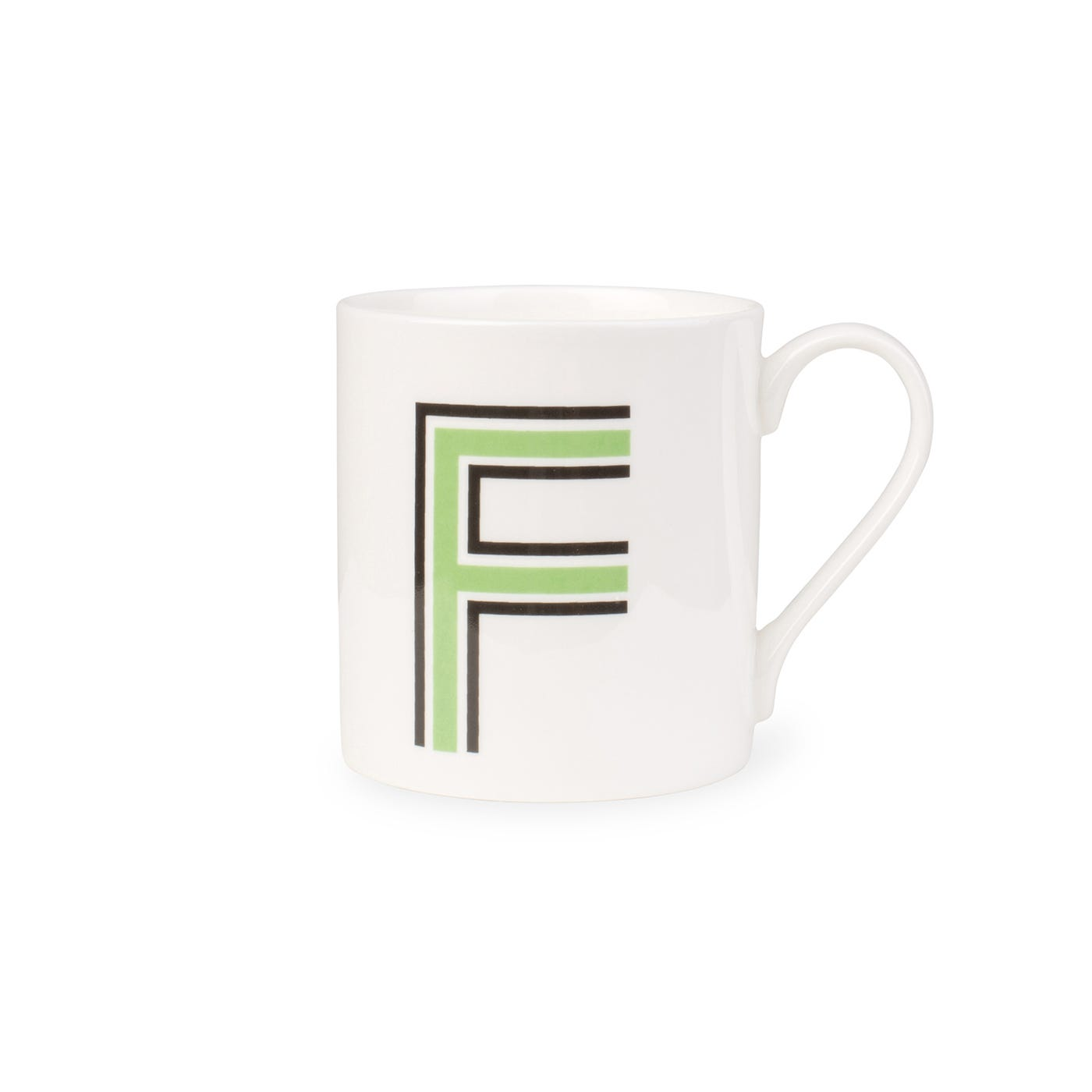 Heal's Heritage Alphabet Mug F