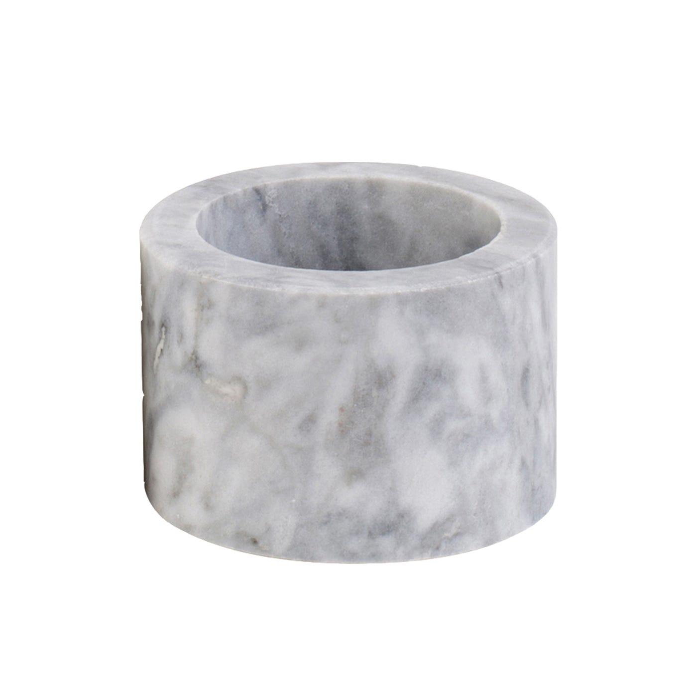 Marble Napkin Ring Grey