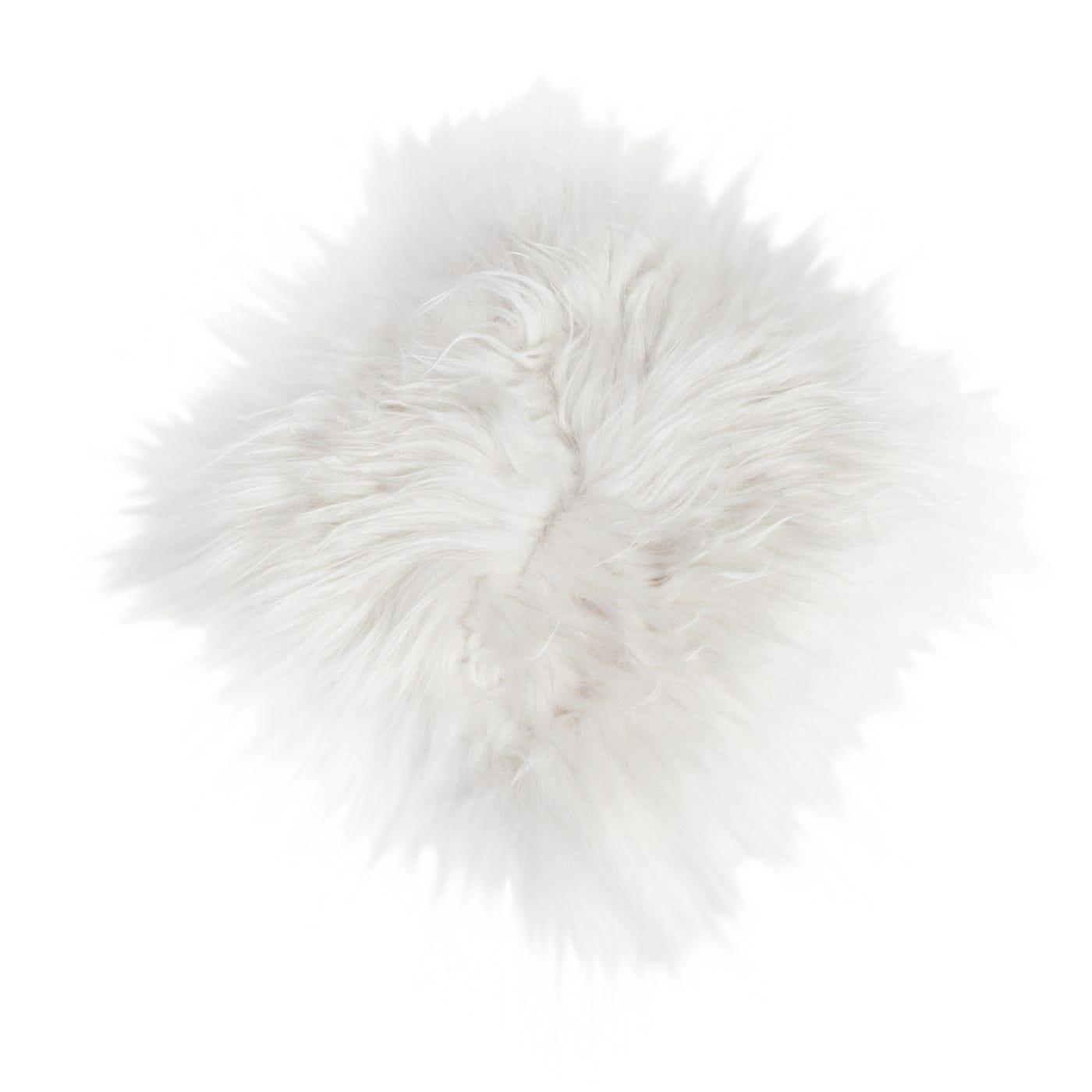 Icelandic Sheepskin Chair Pad – White Chair Pad