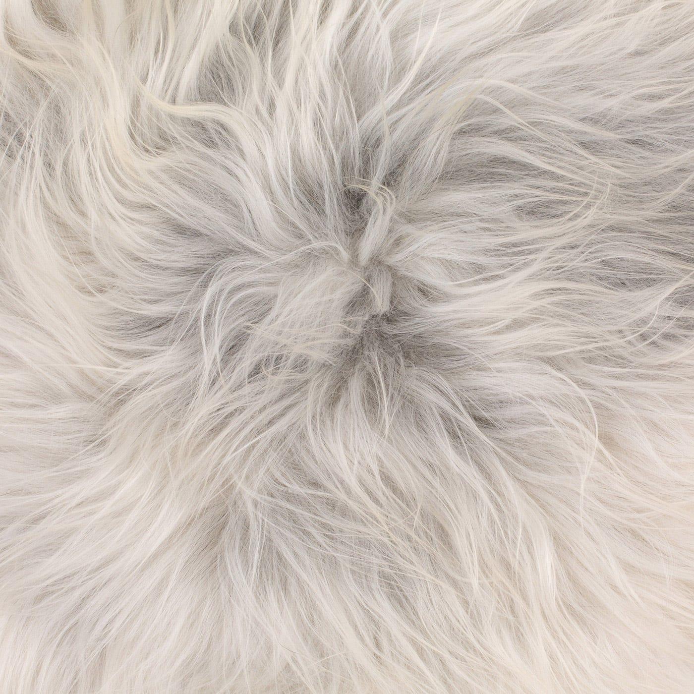 Icelandic Sheepskin Rug Natural Grey