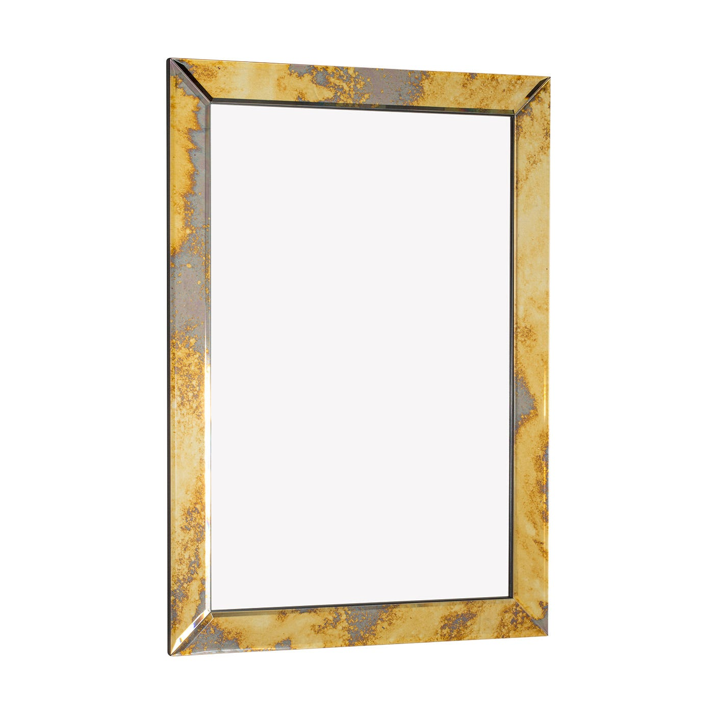 Mitre Modern Vintage Gold Mirror