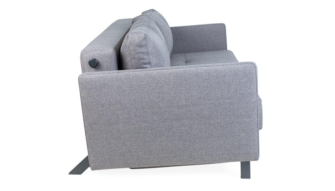 Cubed Sofa Bed Dark Grey Discontinued