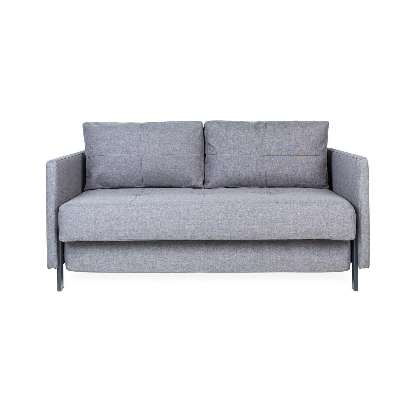 Cubed Sofa Bed Dark Grey