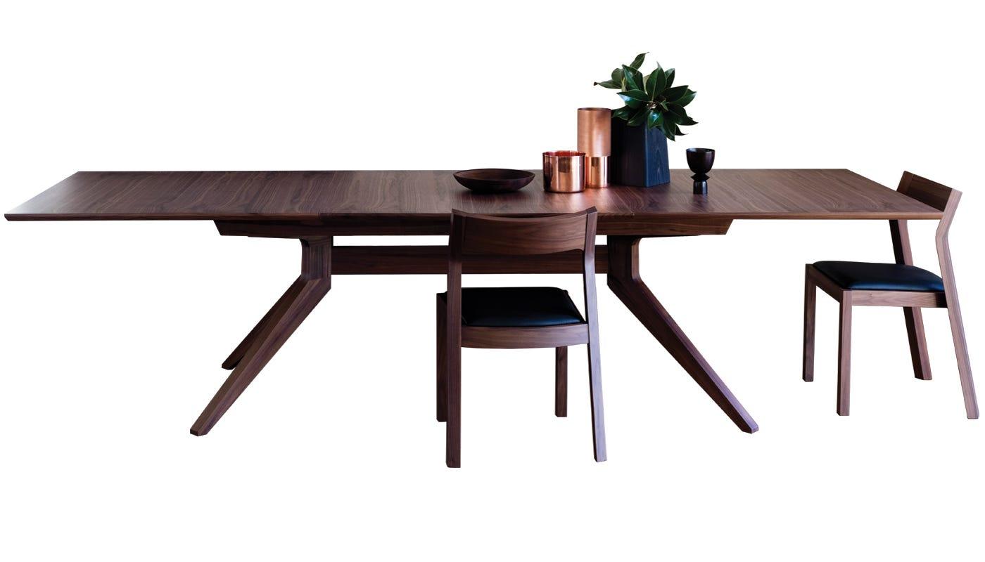 Extending Dining Room Table case matthew hilton cross extending dining table
