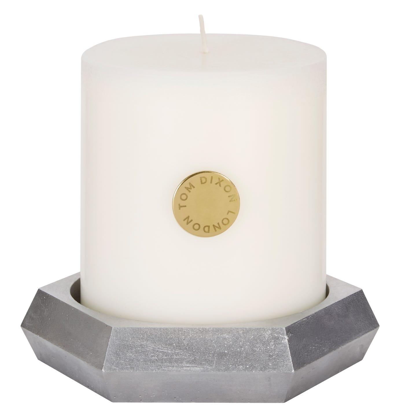 Alloy Pillar Candle Gift Set