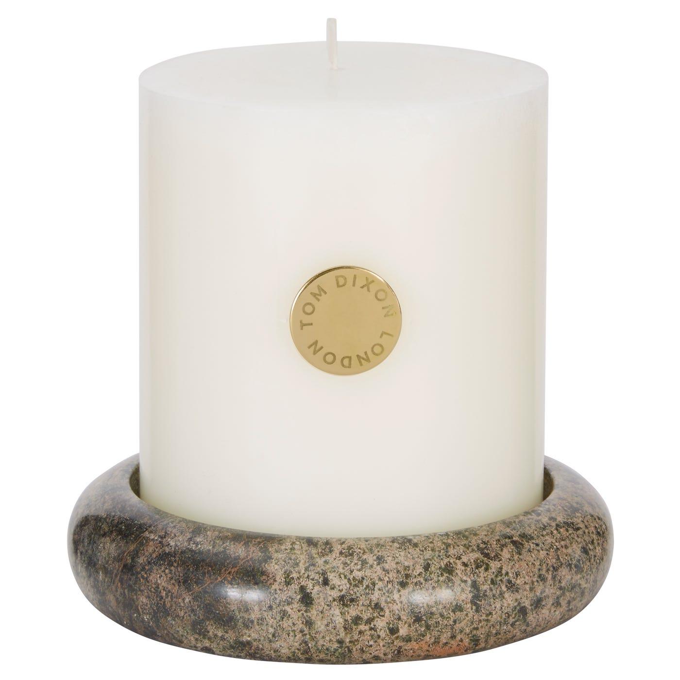 Stone Pillar Candle Giftset