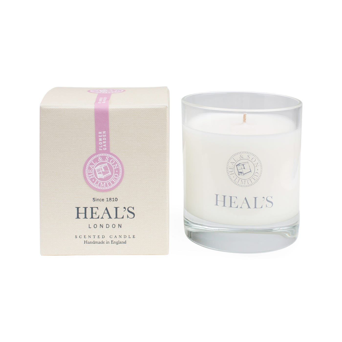 Flower Garden Scented Glass Candle