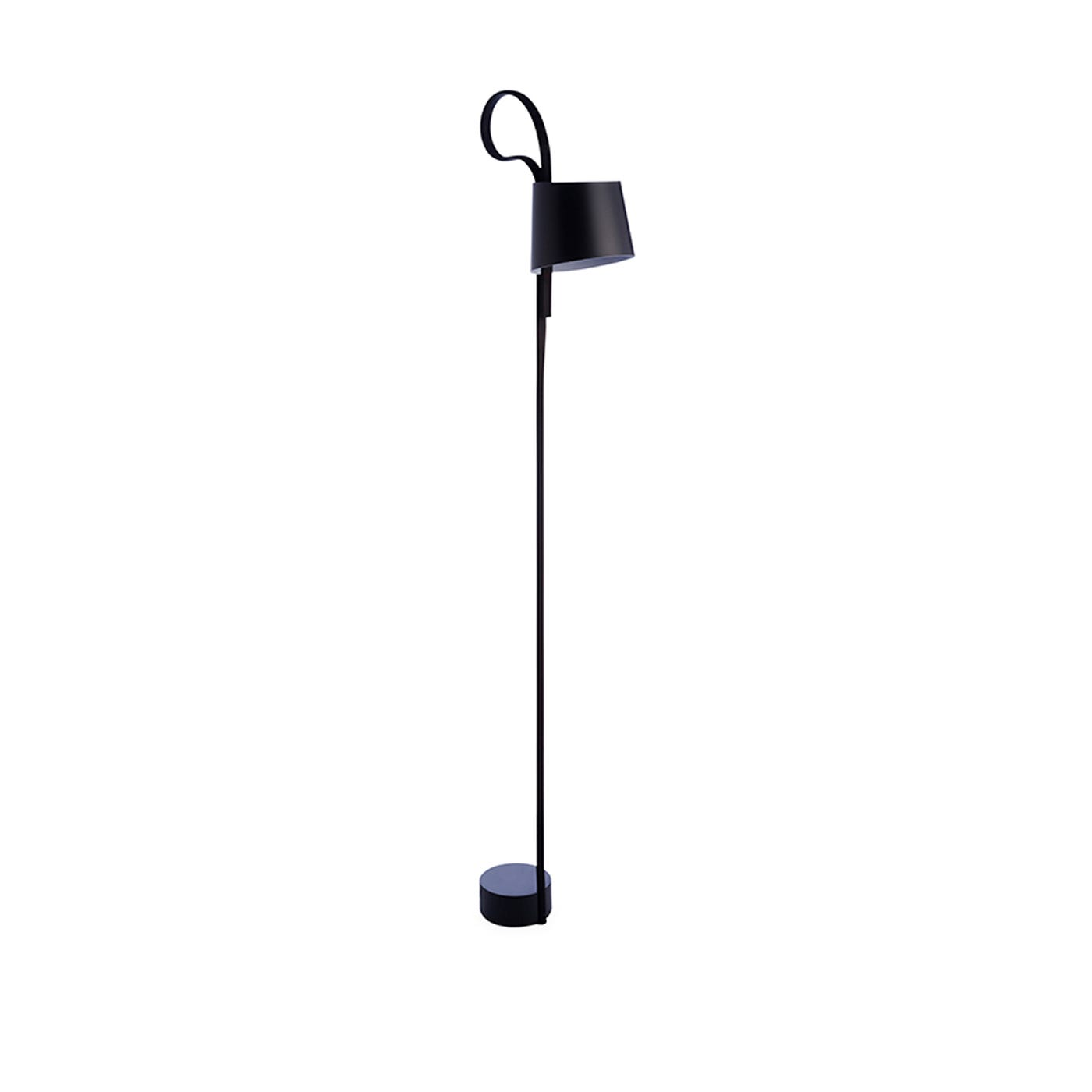 Rope Trick Floor Lamp Black