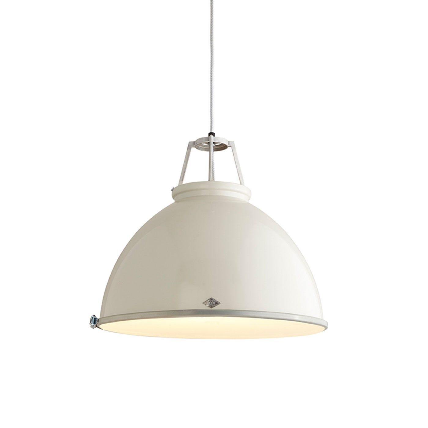 Titan Size 5 Pendant Light Putty Grey