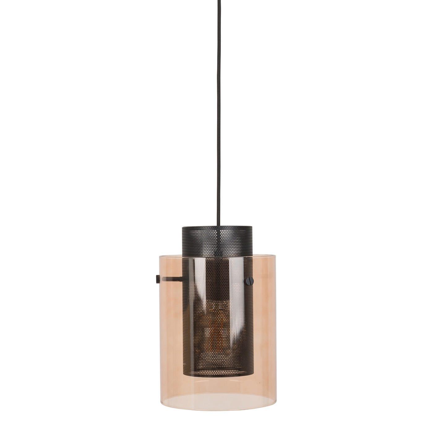 Modern pendant lighting contemporary pendant lights heals cora pendant bronze glass matt black shade aloadofball Image collections