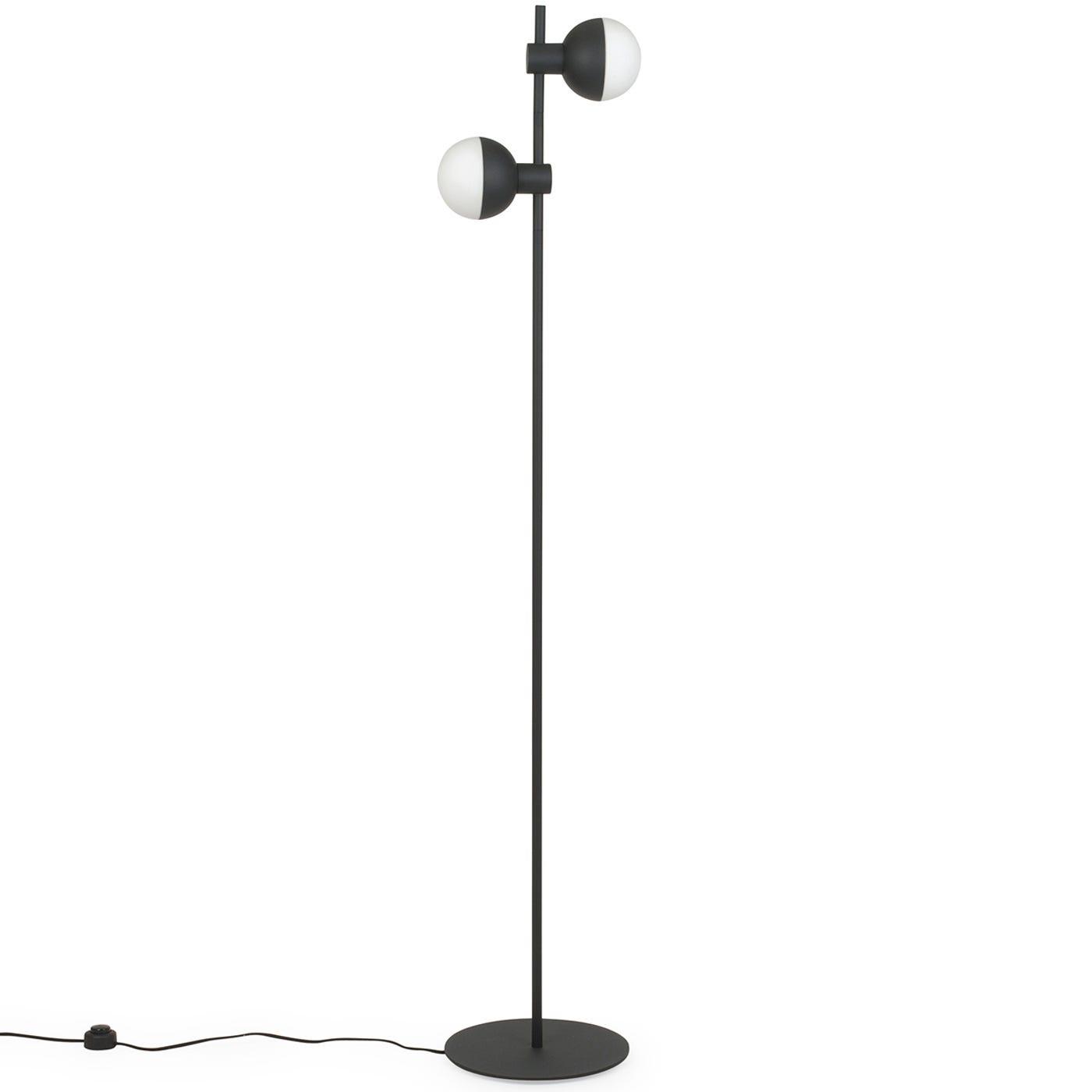 Heal\'s Fabian Floor Lamp Black | HEAL\'S