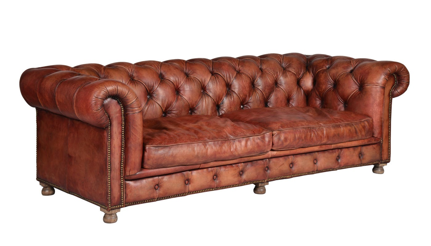 Westminster Feather Seater Sofa - Sofa club