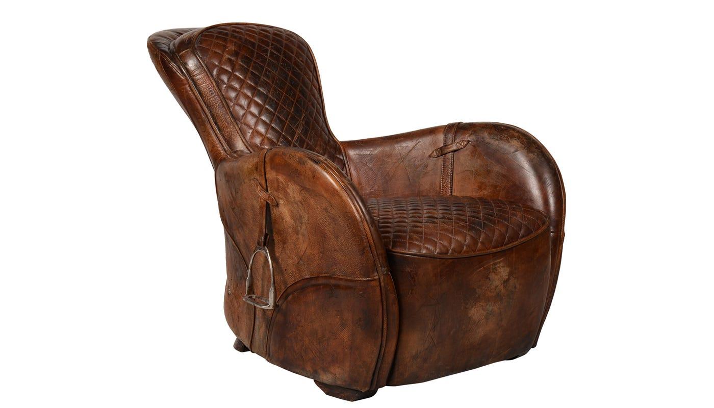 Horse saddle chair - Horse Saddle Chair 9