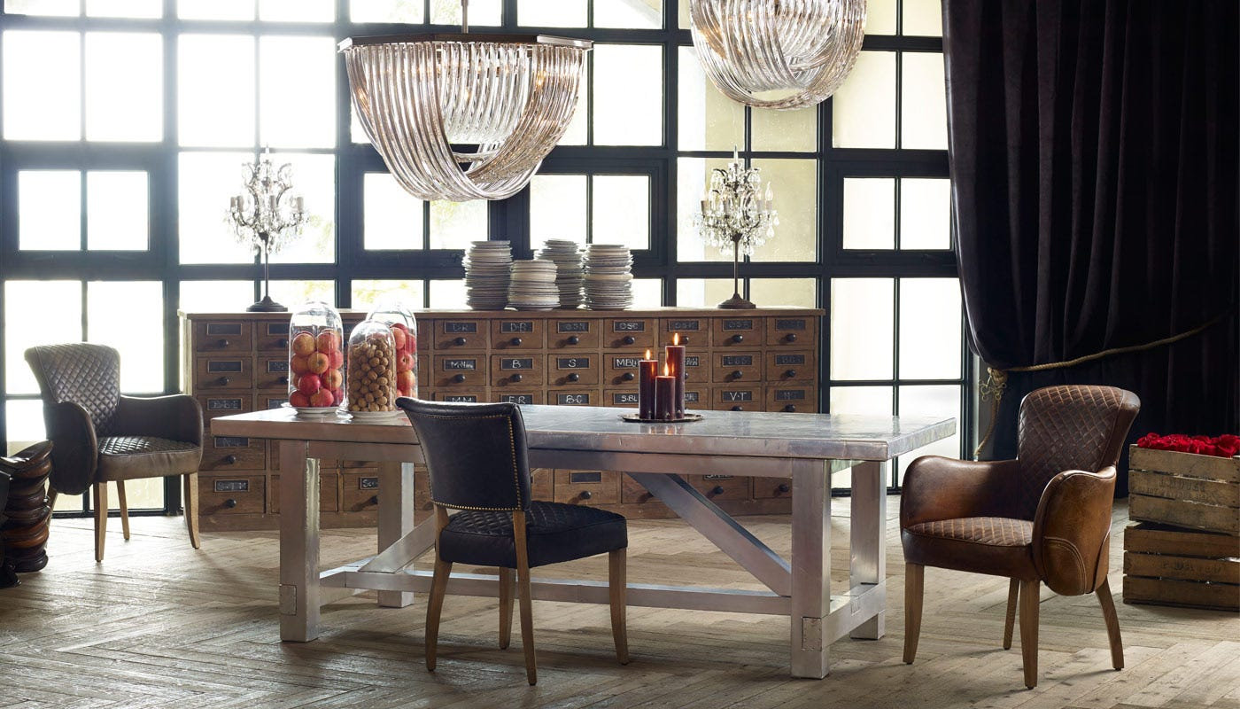 Timothy Oulton Boston Dining Table Heal S