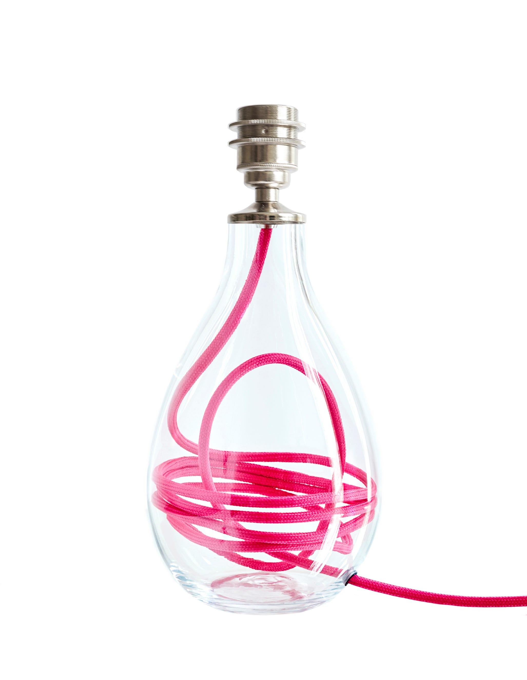 Crystal Glass Lamp Base