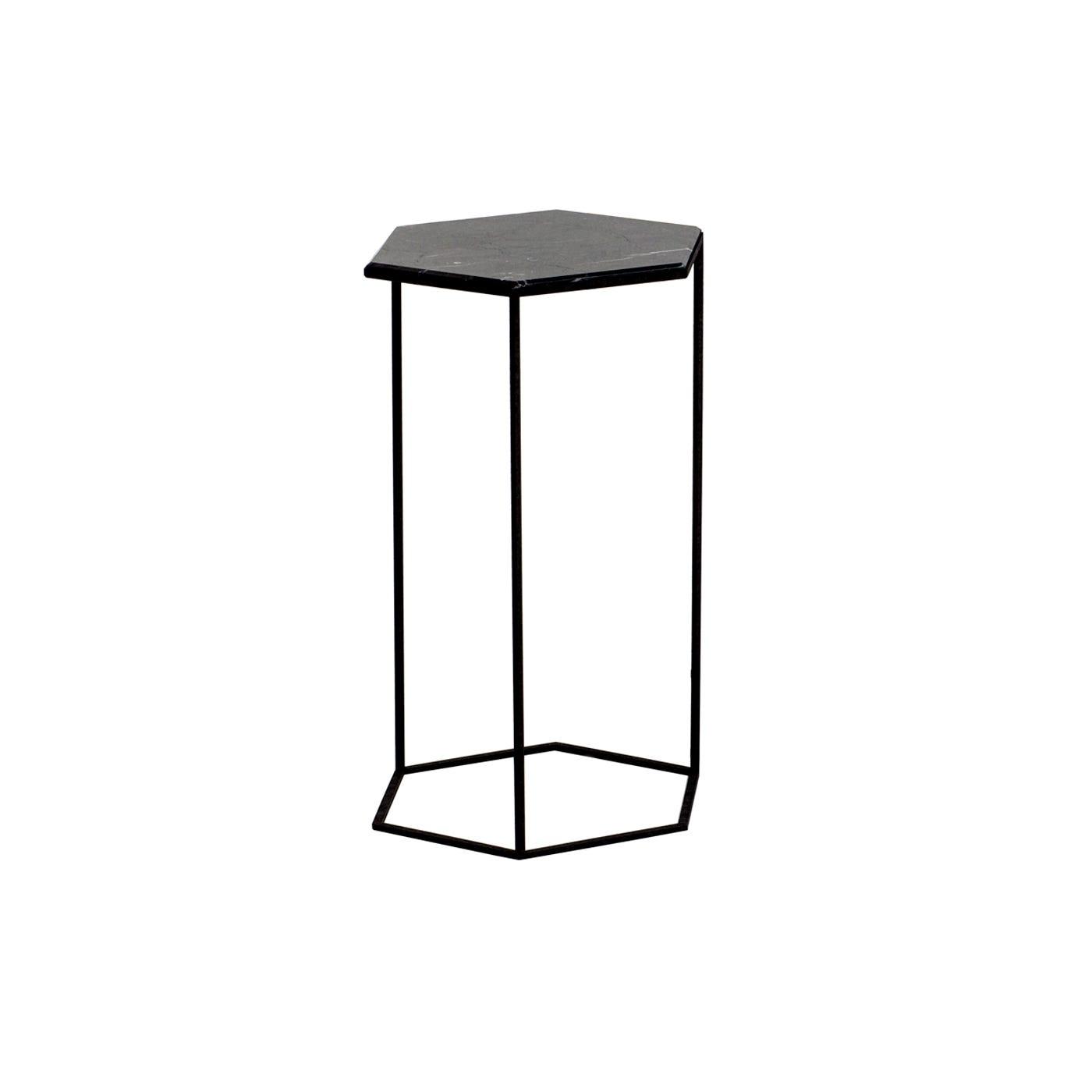 Hexxed High Table Black Top Black Base