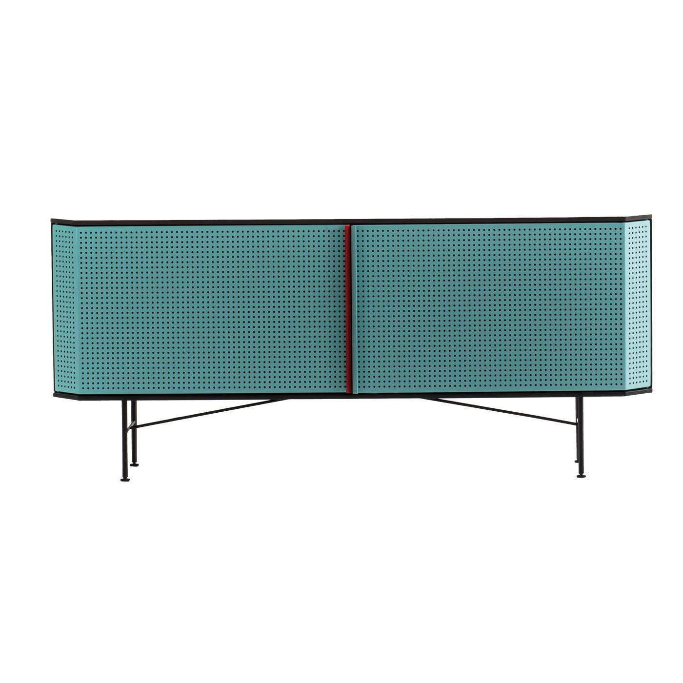 Perf Bar Cabinet Steel Top