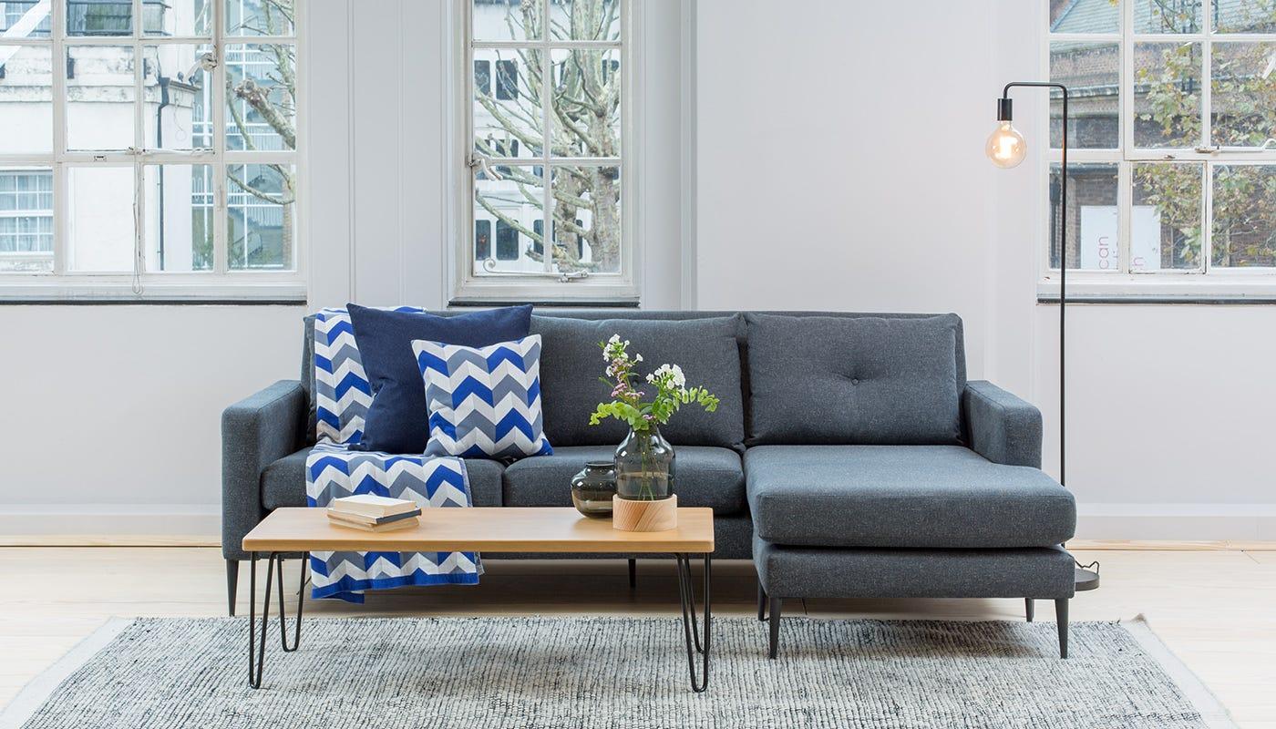 Mid Century Modern Sofas The Brunel Sofa Heal S ~ Mid Century Chaise Sofa