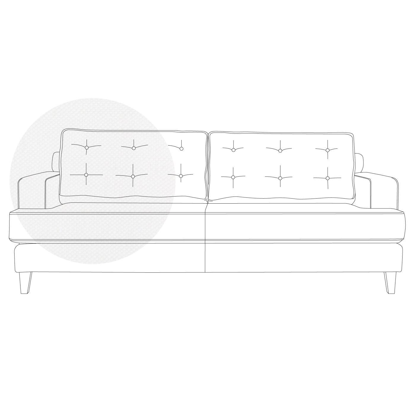 Mistral 3 Seater Sofa