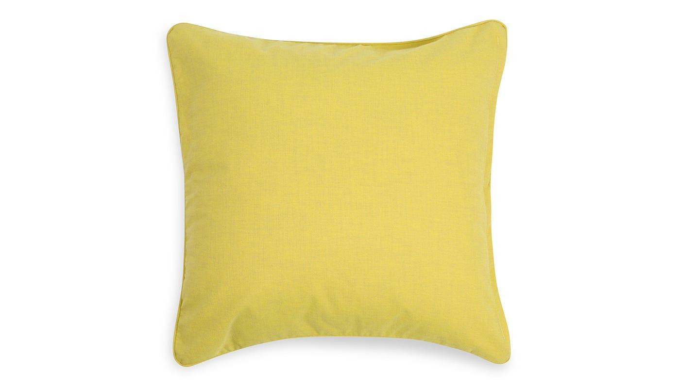 Marble Velvet Cushion Green -  reverse