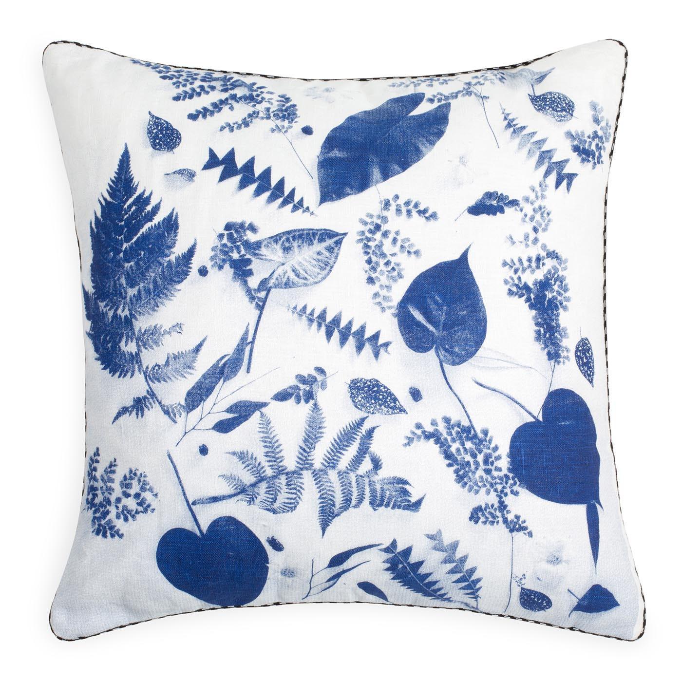 Botany Cushion Blue