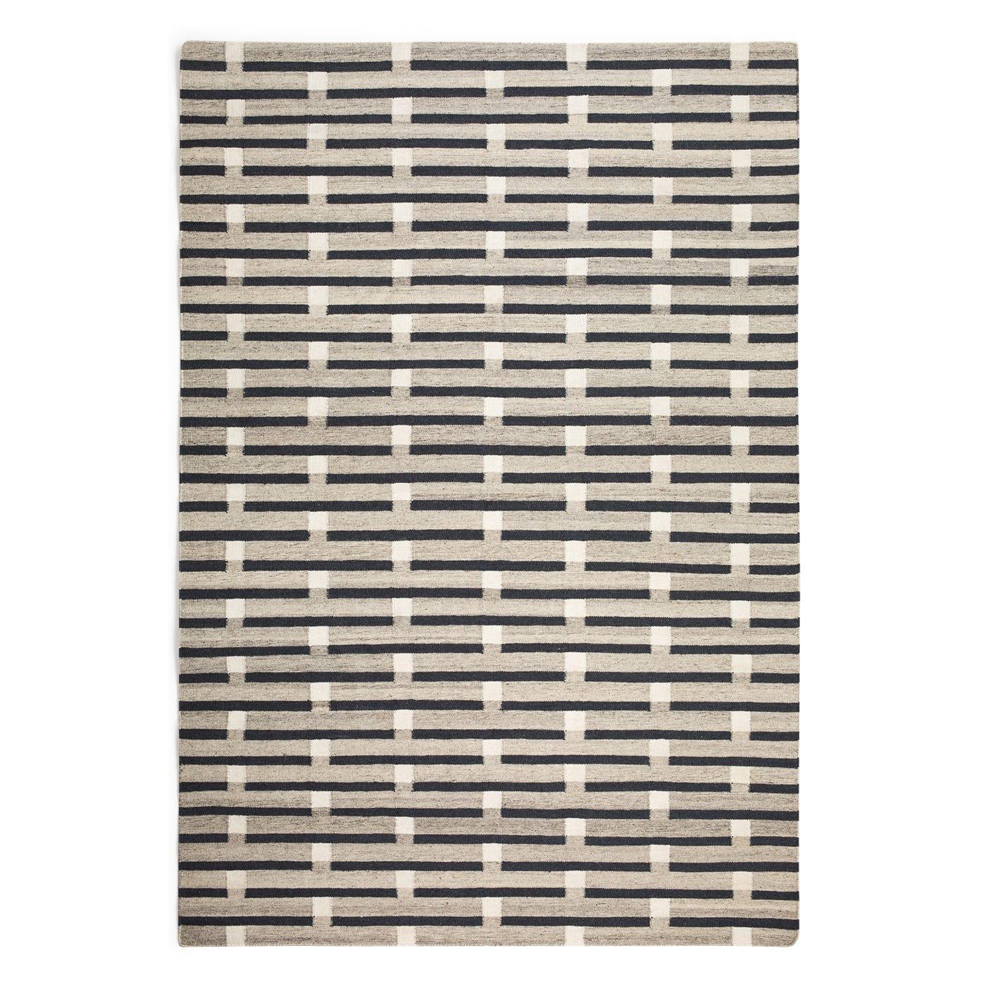 Purlin Flatweave Rug Warm Grey