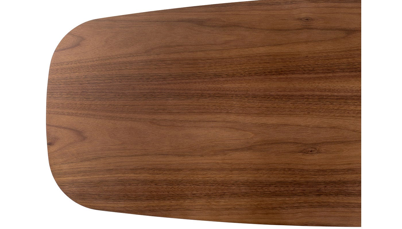 Solapa Small Rectangular Coffee Table Walnut