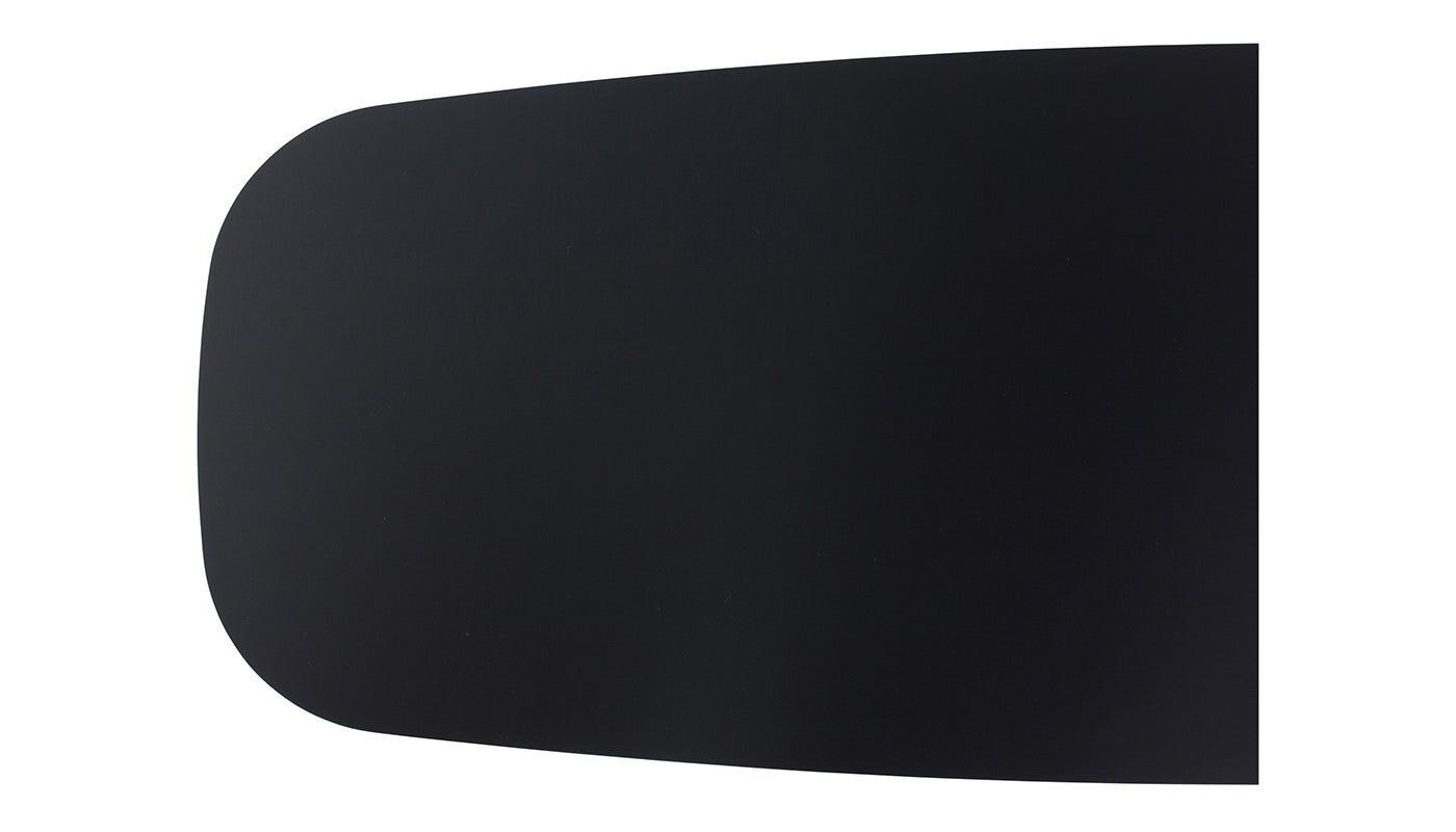 Solapa Small Rectangular Coffee Table Black