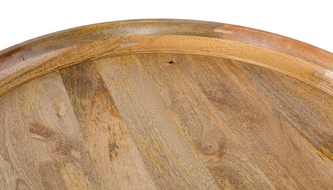 Natural Mango Wood detail