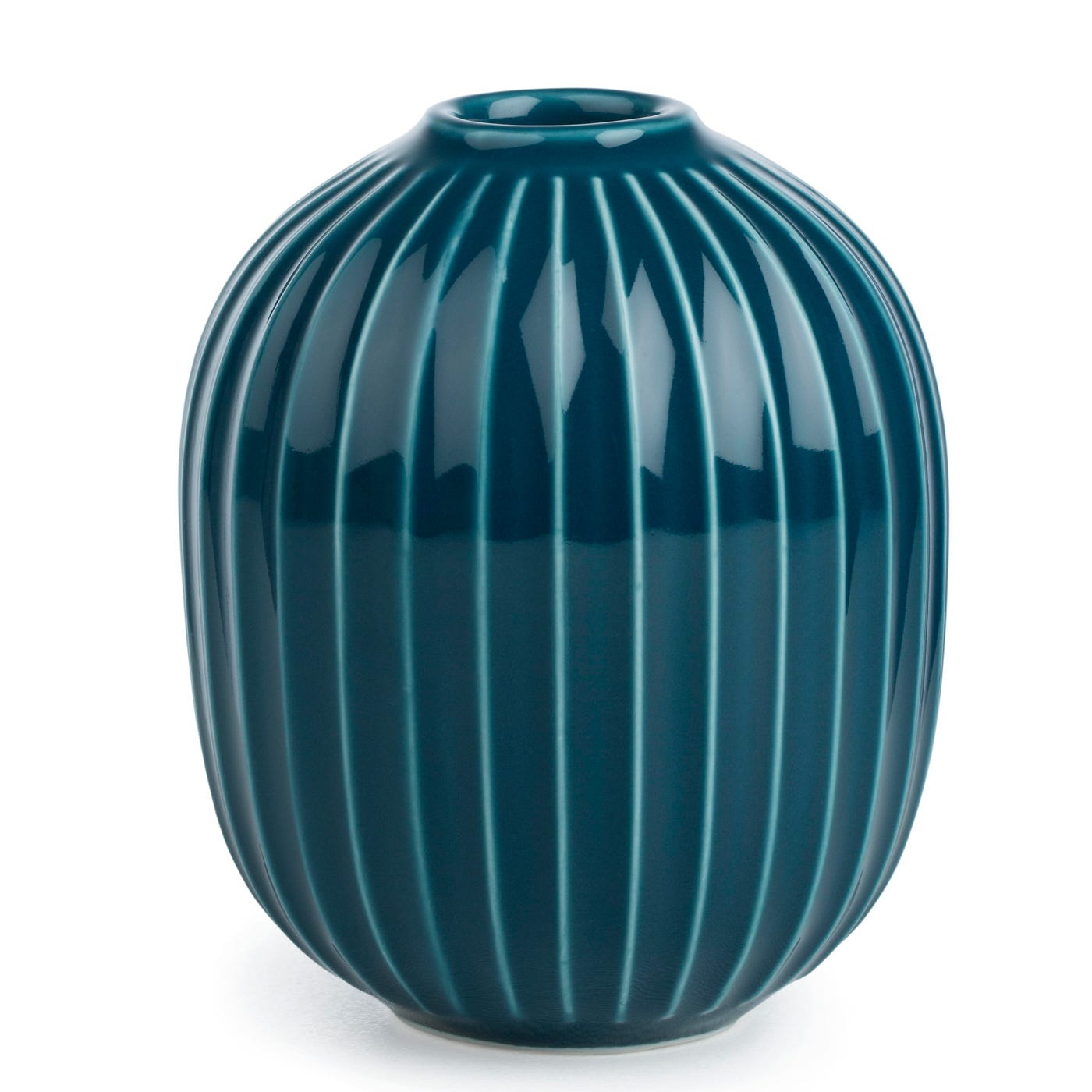 Hammershoi Candleholder Blue