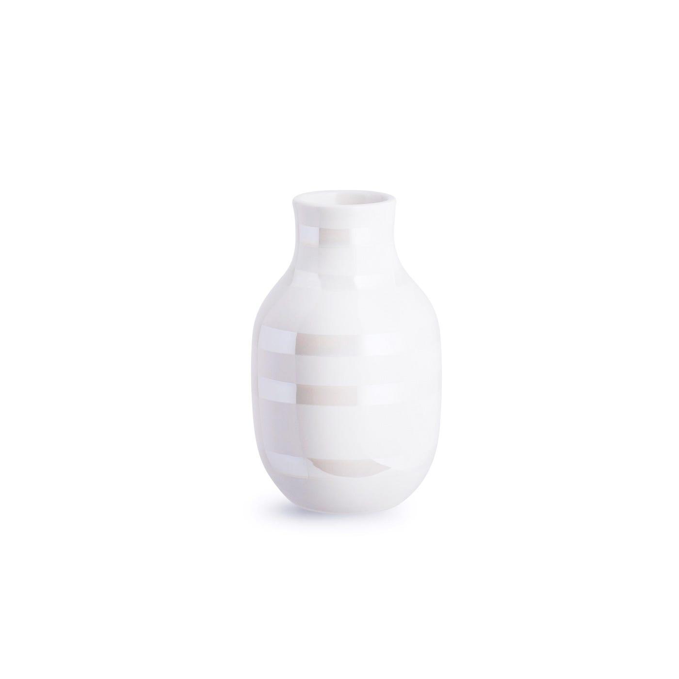 Omaggio Vase Small Pearl