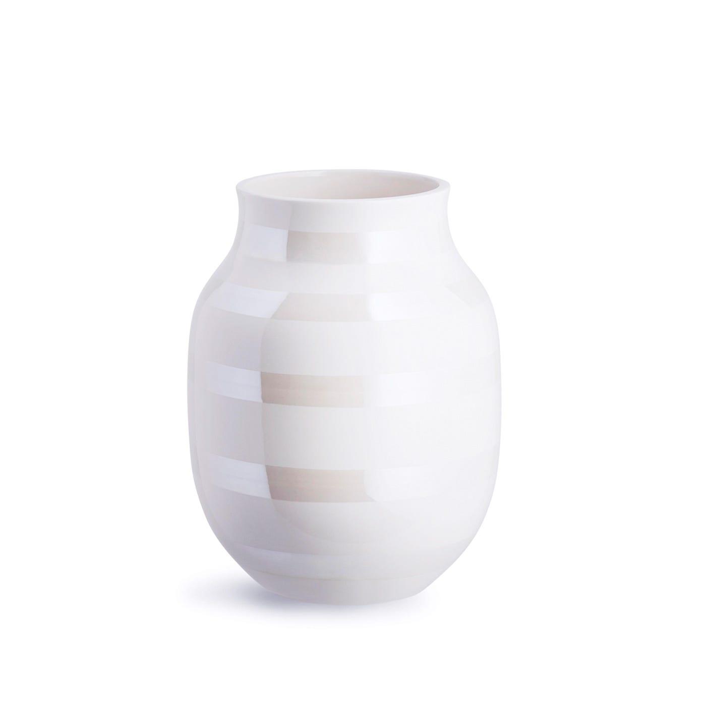 Omaggio Vase Medium Pearl