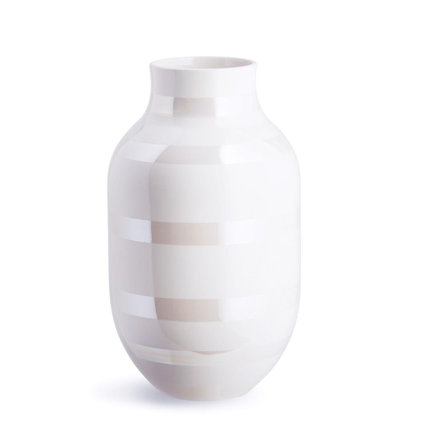 Omaggio Vase Large Pearl