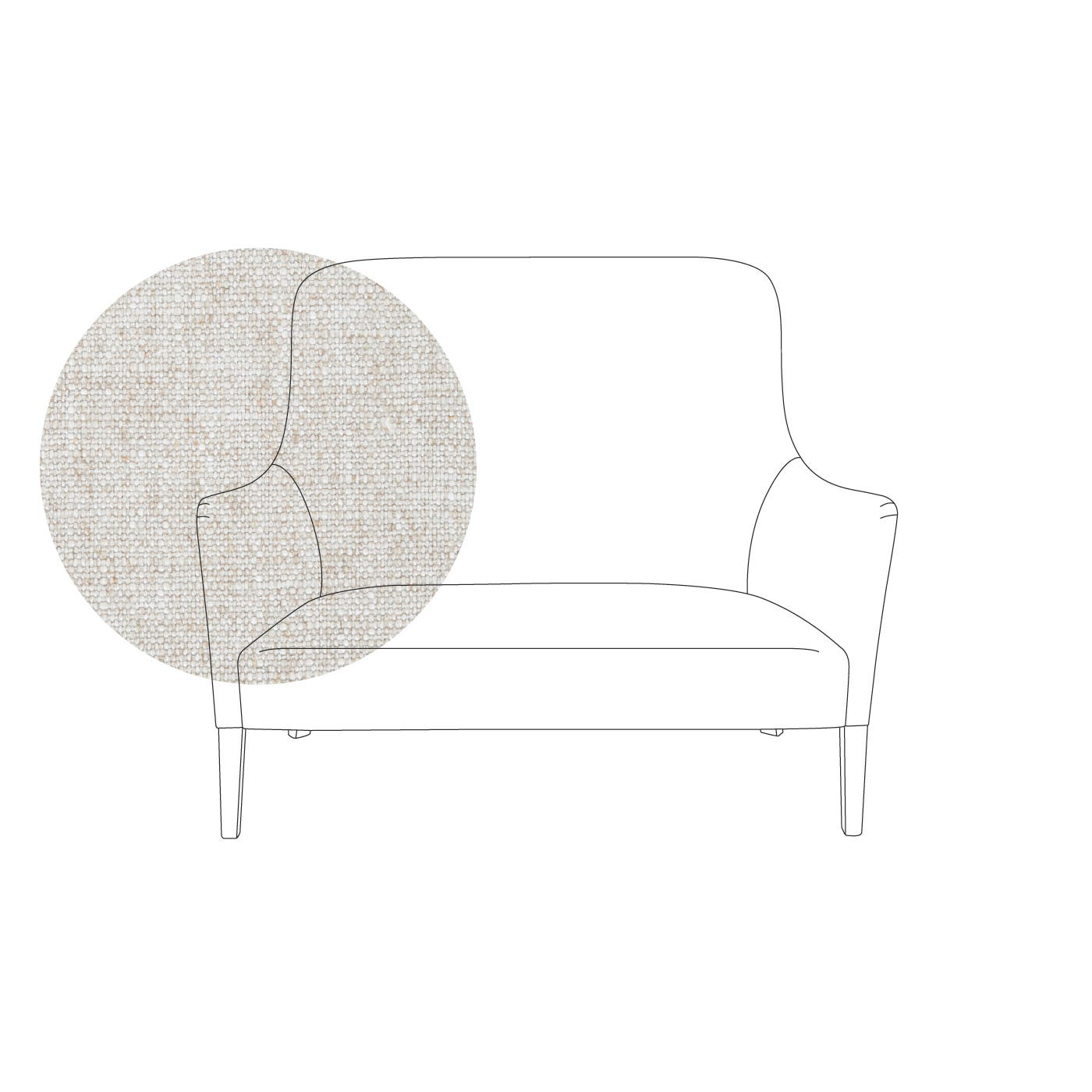 Pendel 2 Seater Sofa